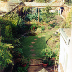 Our garden in Eastbourne